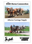 Alberta Carriage Supply DVD