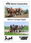 Alberta Carriage Supply DVD