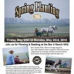 Alberta Carriage Supply Spring Planting